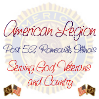 American Legion Post 52 - Romeoville, Illinois!