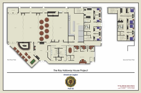 American Legion Romeoville Post 52 Needs A Meeting Place! Please Help Us Fund Our NEW American Legion Building! See Our Ray Holloway House Project Presentation Board!